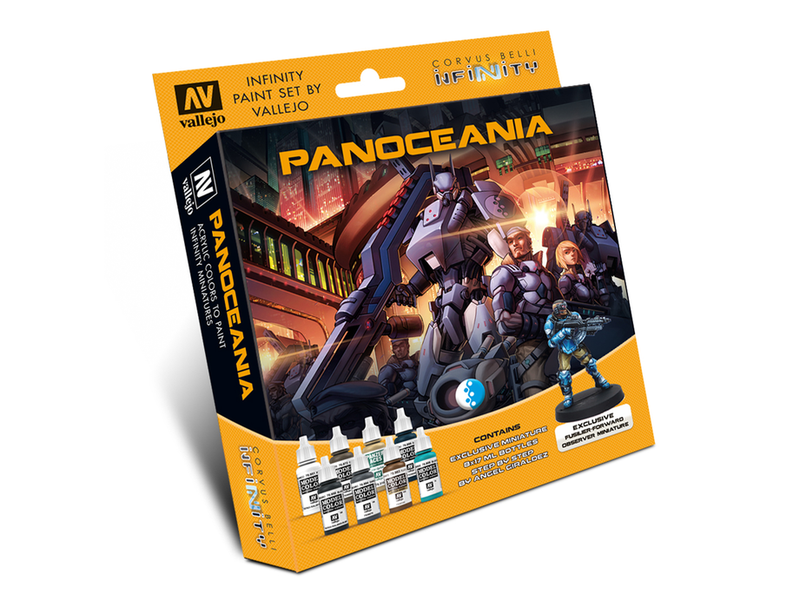 Infinity PanOceania Model Color Paint Set