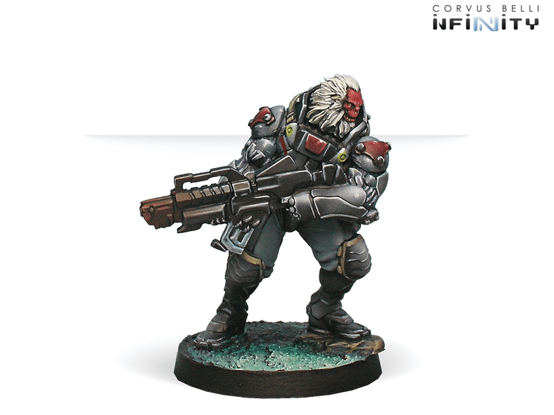 Infinity Combined Army Morat Aggression Force Miniature Game Figures Morat Vanguard Infantry