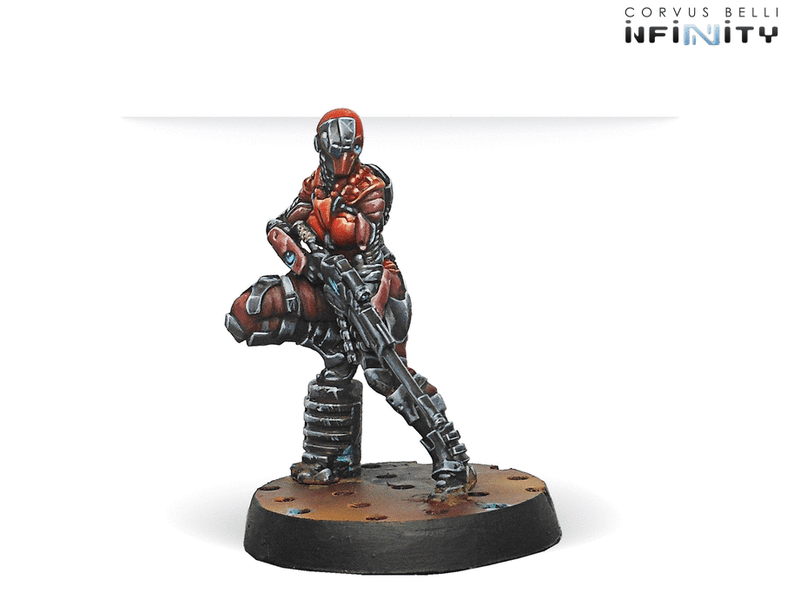 Infinity Nomads Action Pack INTRUDER MULTI Sniper Rifle