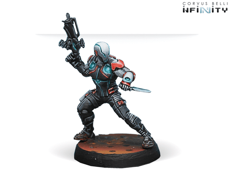 Infinity Nomads Action Pack SPEKTR Combi Rifle