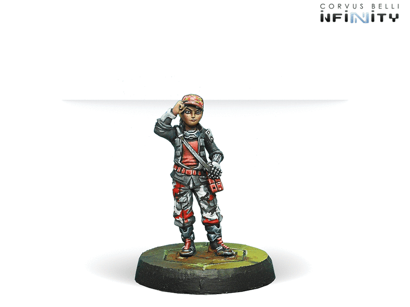 Infinity NA2 Outrage Characters Pack Miniature Game Figures