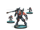Infinity Combined Army Overdron Batroids Miniature Game Figures By Corvus Belli