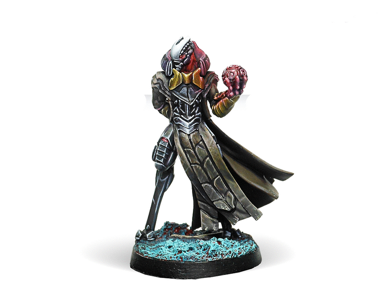 Infinity Combined Army Pneumarch of the Ur Hegemony (High Value Target) Miniature Game Figure