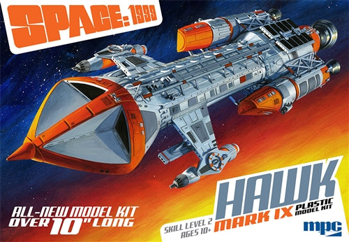 Space 1999 Hawk Mark IX 1/72 Scale Model Kit By MPC