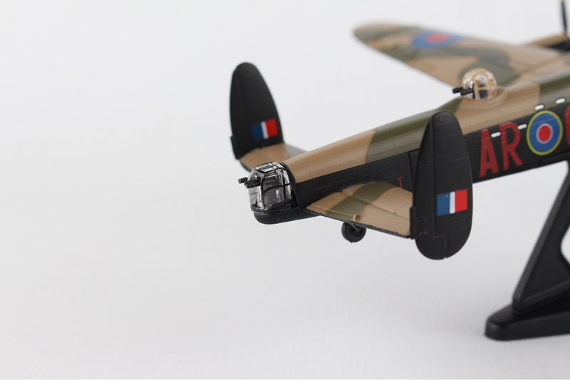 "Avro Lancaster RAAF ""G For George"" 1/150  Scale Model By Daron Postage Stamp Tail Close Up"