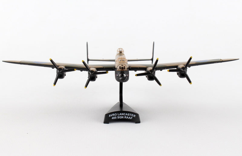 "Avro Lancaster RAAF ""G For George"" 1/150  Scale Model By Daron Postage Stamp Front View"