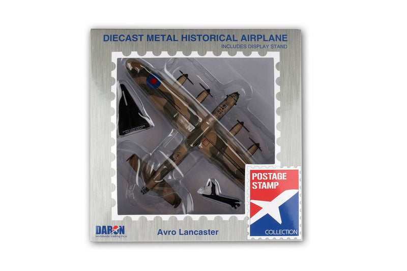 "Avro Lancaster RAAF ""G For George"" 1/150  Scale Model By Daron Postage Stamp Box"