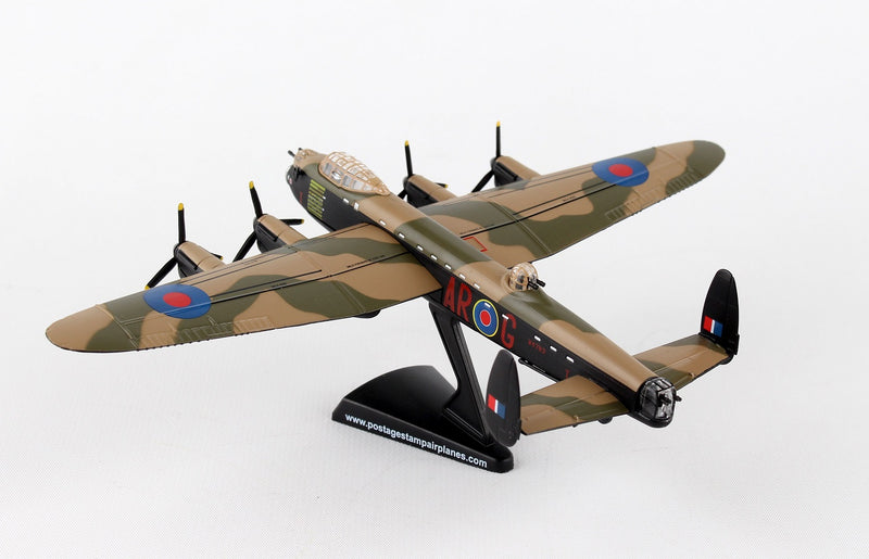 "Avro Lancaster RAAF ""G For George"" 1/150  Scale Model By Daron Postage Stamp"