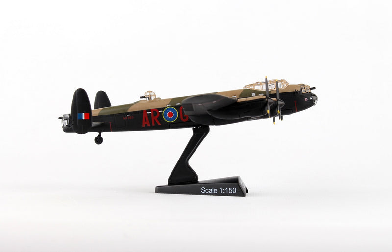 "Avro Lancaster RAAF ""G For George"" 1/150  Scale Model By Daron Postage Stamp Right Side View"