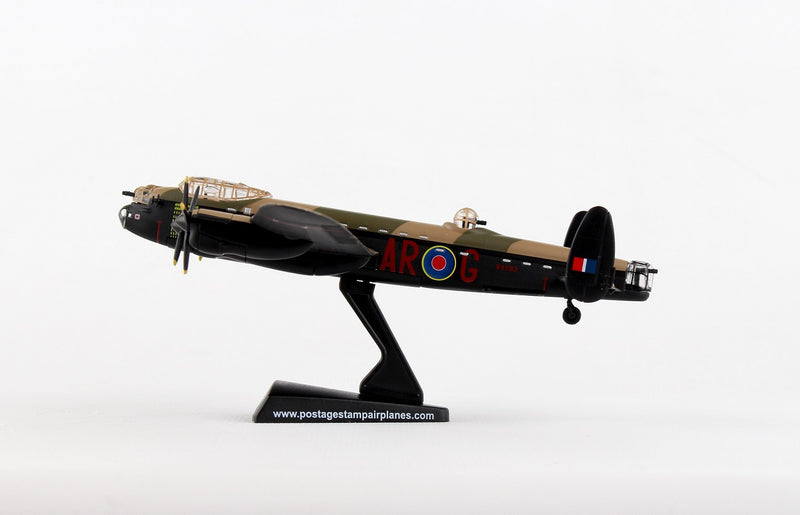 "Avro Lancaster RAAF ""G For George"" 1/150  Scale Model By Daron Postage Stamp Left Side View"