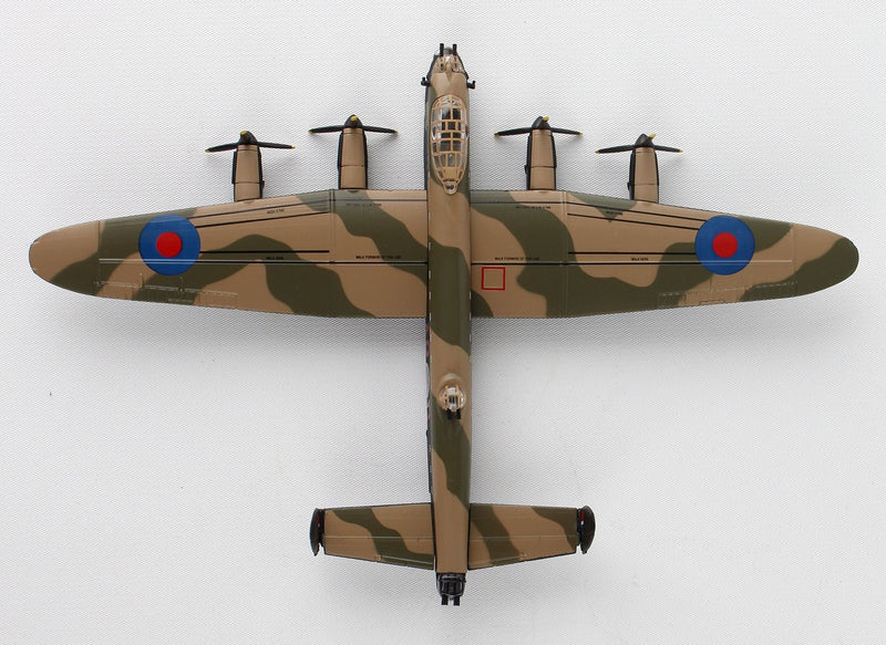 "Avro Lancaster RAAF ""G For George"" 1/150  Scale Model By Daron Postage Stamp Top View"