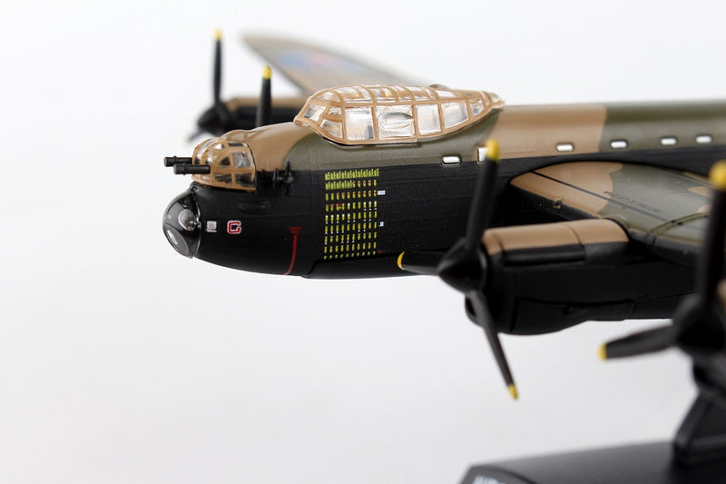 "Avro Lancaster RAAF ""G For George"" 1/150  Scale Model By Daron Postage Stamp Nose Detail"