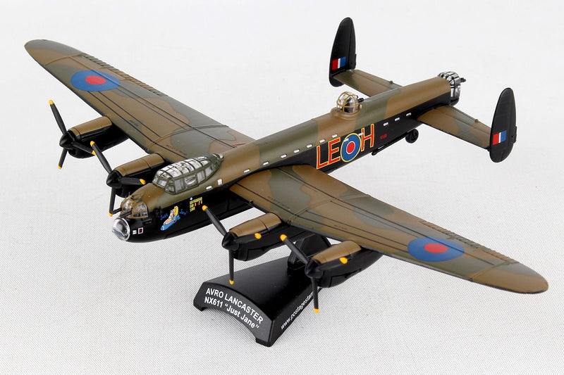 "Avro Lancaster RAF ""Just Jane"" 1/150  Scale Model By Daron Postage Stamp"