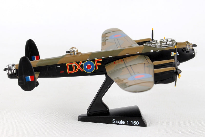 "Avro Lancaster RAF ""Just Jane"" 1/150  Scale Model By Daron Postage Stamp Right Side View"
