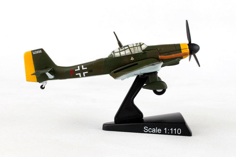 Junkers Ju 87 Stuka 1/110  Scale Model By Daron Postage Stamp Right Side View