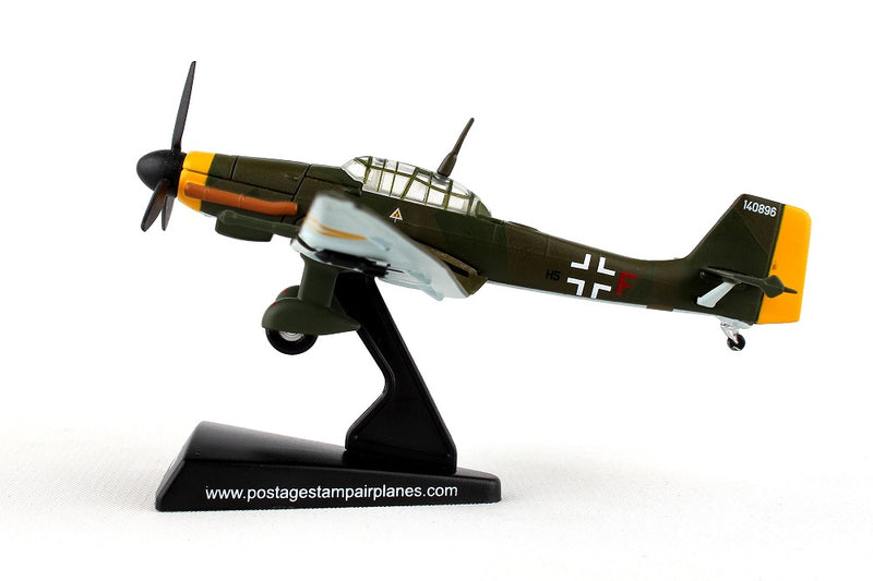 Junkers Ju 87 Stuka 1/110  Scale Model By Daron Postage Stamp