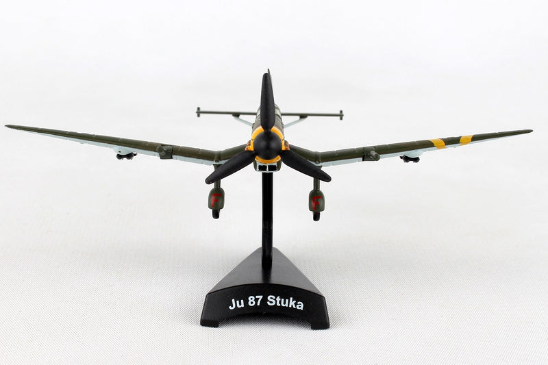 Junkers Ju 87 Stuka 1/110  Scale Model By Daron Postage Stamp Front View