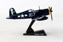 Vought F4U Corsair 1/100 Scale Model By Daron Postage Stamp Right Side View