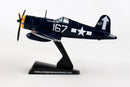 Vought F4U Corsair 1/100 Scale Model By Daron Postage Stamp Left Side View