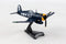 Vought F4U Corsair 1/100 Scale Model By Daron Postage Stamp Right Front View