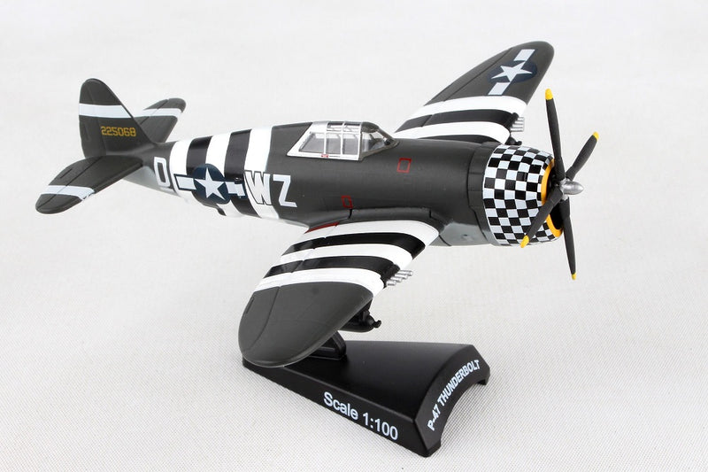 "Republic P-47 Thunderbolt ""SNAFU"" 1944, 1/100  Scale Model By Daron Postage Stamp"