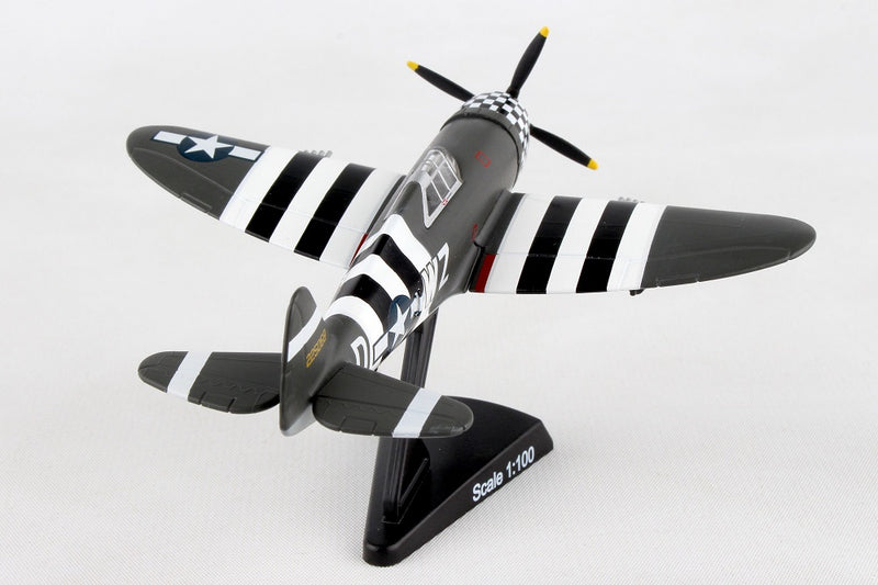 "Republic P-47 Thunderbolt ""SNAFU"" 1944, 1/100  Scale Model"