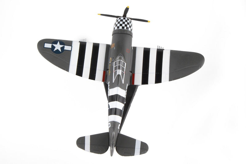 "Republic P-47 Thunderbolt ""SNAFU"" 1944, 1/100  Scale Model By Daron Postage Stamp Top View"