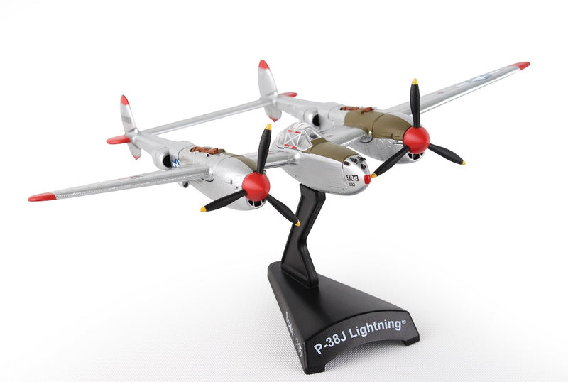 "Lockheed P-38J Lightning ""Marge""  1/115  Scale Model By Daron Postage Stamp"