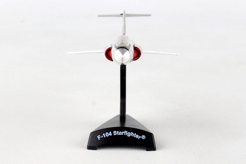 Lockheed F-104 Starfighter 479th TFW 1/120  Scale Model By Daron Postage Stamp Front View