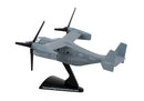 Bell Boeing V-22 Osprey USAF 1:150 Scale Diecast Model By Daron Postage Stamp Right Side View