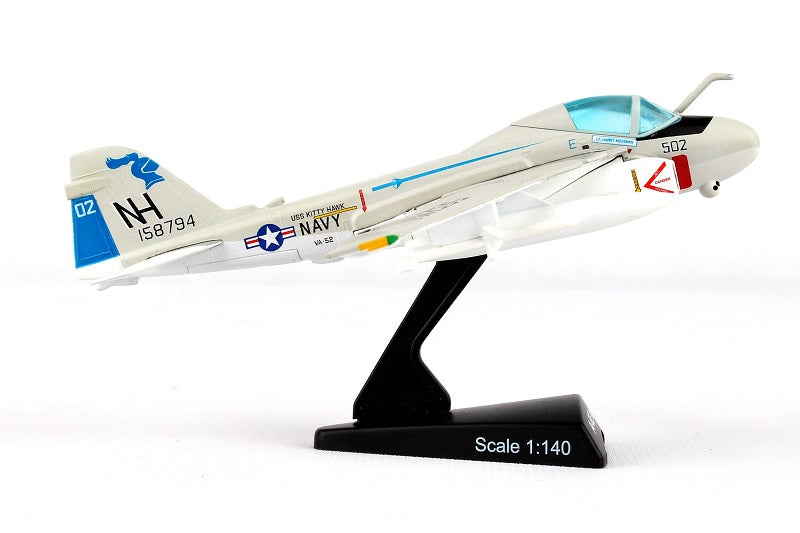 "Grumman A-6E Intruder VA-52 ""Knightriders"" 1/140  Scale Model Right Side View"