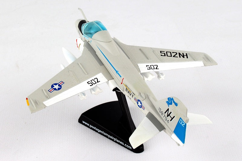 "Grumman A-6E Intruder VA-52 ""Knightriders"" 1/140  Scale Model"