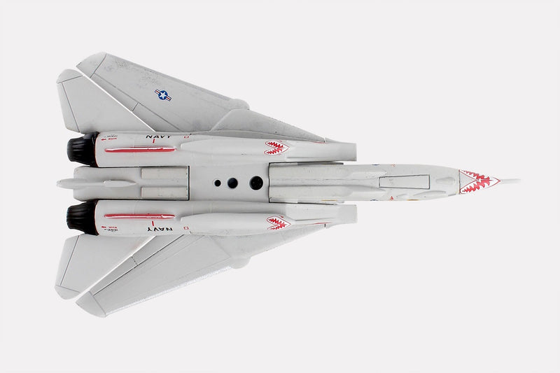 "Grumman F-14 Tomcat ""Miss Molly"" 1/160 Scale Model By Daron Postage Stamp Bottom View"