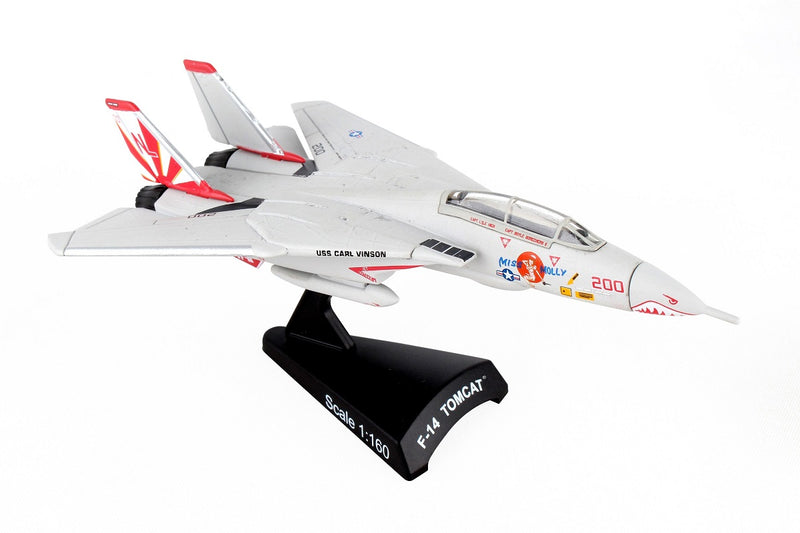 "Grumman F-14 Tomcat ""Miss Molly"" 1/160 Scale Model By Daron Postage Stamp"