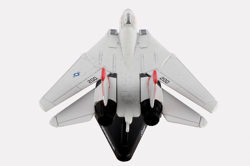 "Grumman F-14 Tomcat ""Miss Molly"" 1/160 Scale Model By Daron Postage Stamp Rear View"
