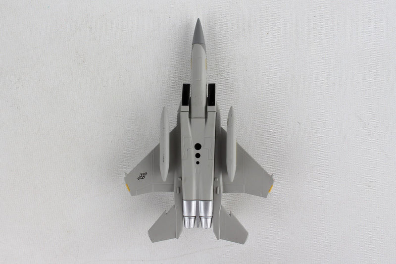 Boeing F-15A Eagle USAF 1/150 Scale Model By Daron Postage Stamp Bottom View
