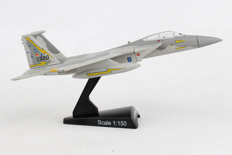 Boeing F-15A Eagle USAF 1/150 Scale Model By Daron Postage Stamp Right Side View