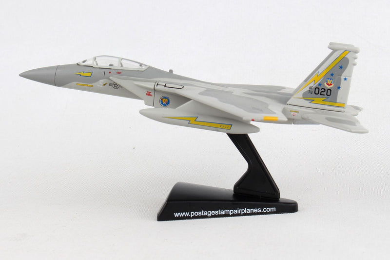Boeing F-15A Eagle USAF 1/150 Scale Model By Daron Postage Stamp Left Side View