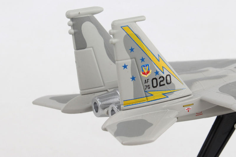 Boeing F-15A Eagle USAF 1/150 Scale Model By Daron Postage Stamp Tail Detail