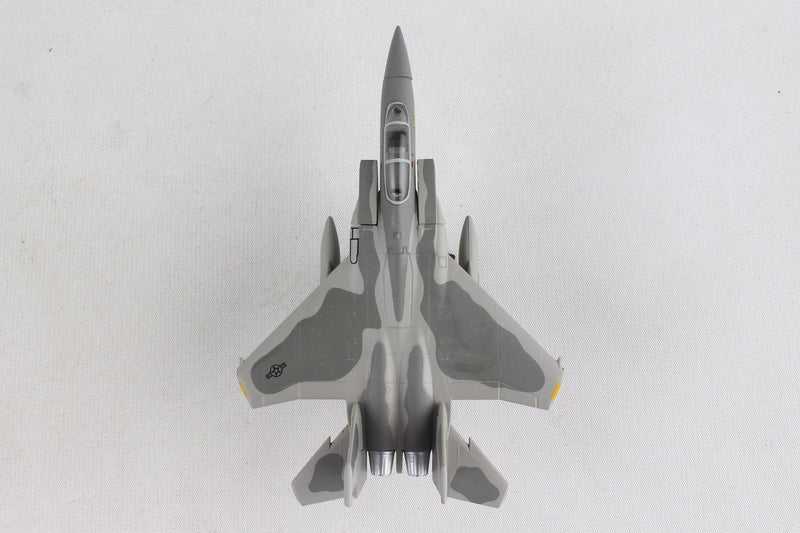 Boeing F-15A Eagle USAF 1/150 Scale Model By Daron Postage Stamp Top View