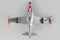 Lockheed F-80 Shooting Star 1:96 Scale Model By Daron Postage Stamp Bottom View