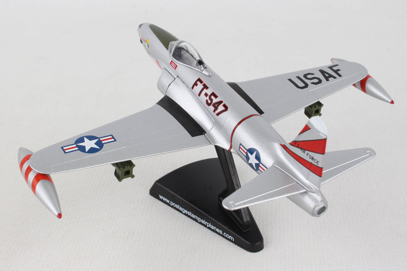 Lockheed F-80 Shooting Star 1:96 Scale Model By Daron Postage Stamp