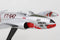 Lockheed F-80 Shooting Star 1:96 Scale Model By Daron Postage Stamp Right Nose Detail