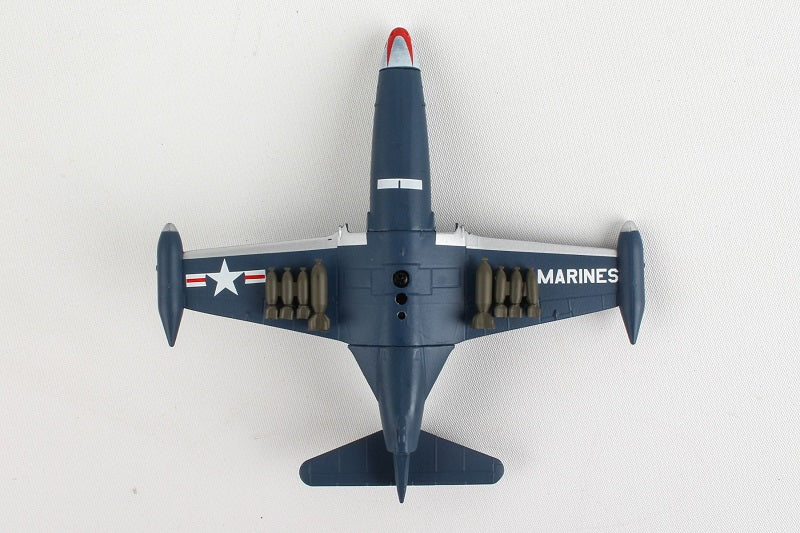 Grumman F9F Panther 1/100  Scale Model Bottom View