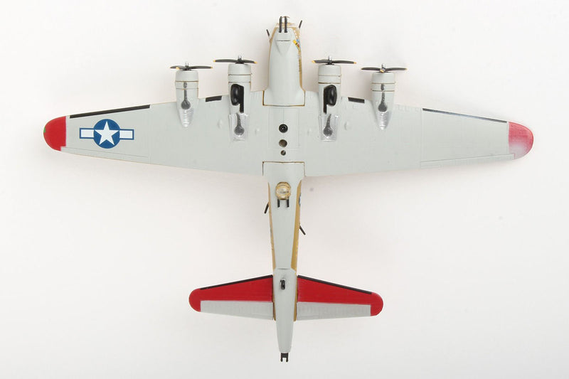 "Boeing B-17G Flying Fortress ""Nine-O-Nine"" 1:155 Scale Model By Daron Postage Stamp Bottom View"