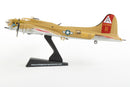"Boeing B-17G Flying Fortress ""Nine-O-Nine"" 1:155 Scale Diecast Model By Daron Postage Stamp Left Side View"