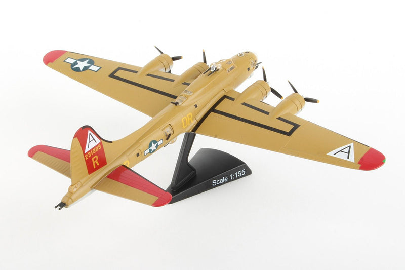 "Boeing B-17G Flying Fortress ""Nine-O-Nine"" 1:155 Scale Model By Daron Postage Stamp"