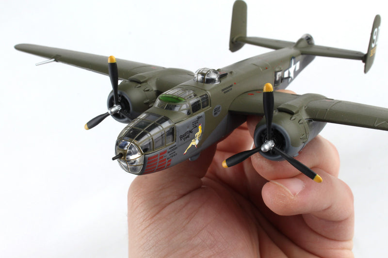 "North American B-25J Mitchell ""Briefing Time"" 1:100 Scale Diecast Model"