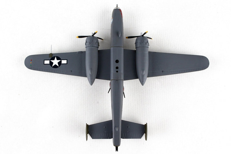 "North American B-25J Mitchell ""Briefing Time"" 1:100 Scale Diecast Model Bottom View"