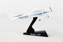 Cessna 172 Skyhawk 1:87 Scale Model By Daron Postage Stamp Right Side View